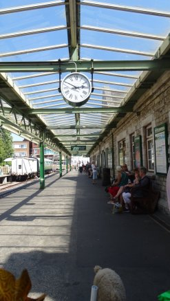 Swanage station 1