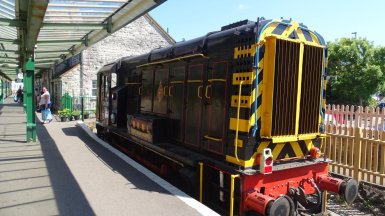 Swanage station diesal
