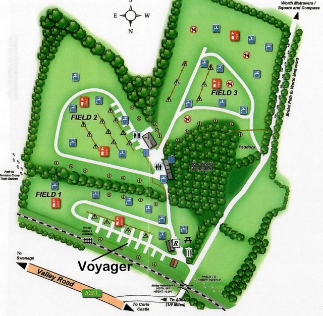 Woodyhyde site map