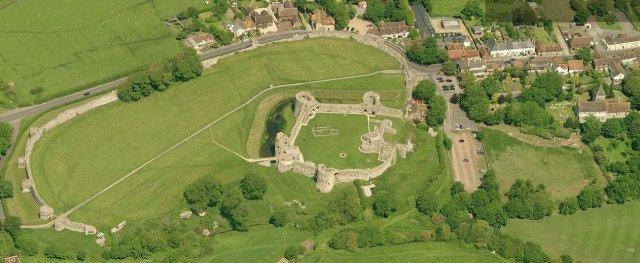 Pevensey Castle 1