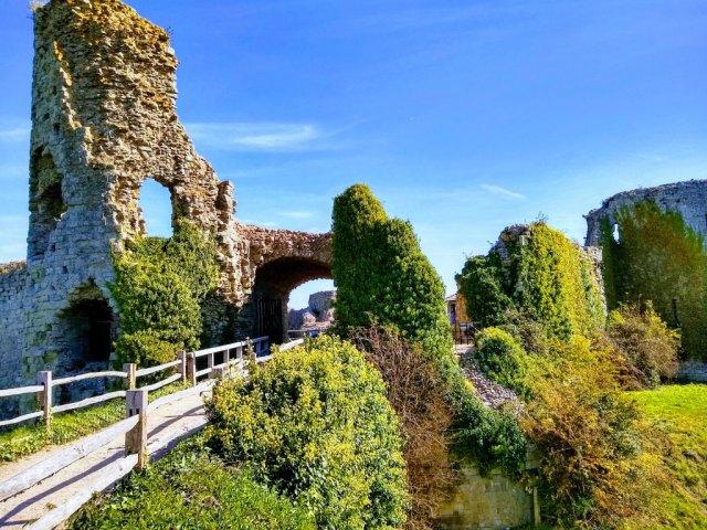 Pevensey Castle 2