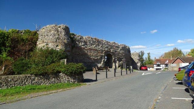 Pevensey Castle a