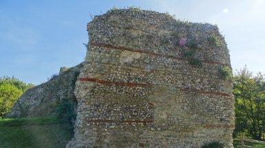 Pevensey Castle roman 4